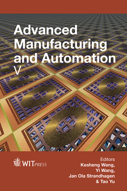 Advanced Manufacturing and Automation V