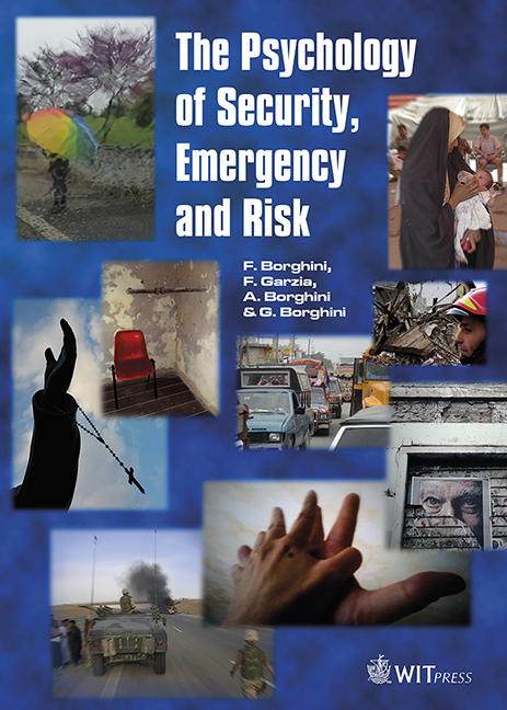 The Psychology of Security, Emergency and Risk