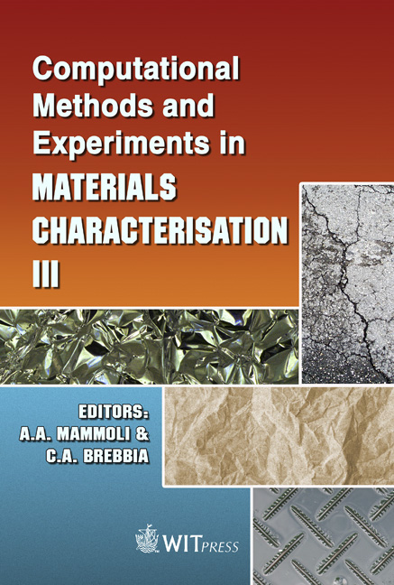 Computational Methods and Experiments in Materials Characterisation III