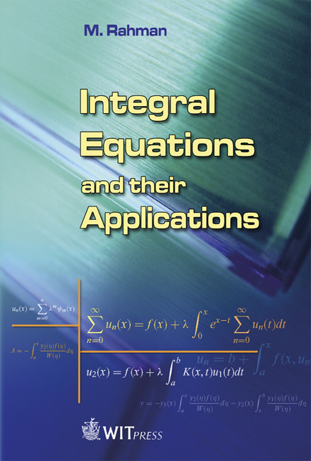 Equation Integral Integral Equations And Their