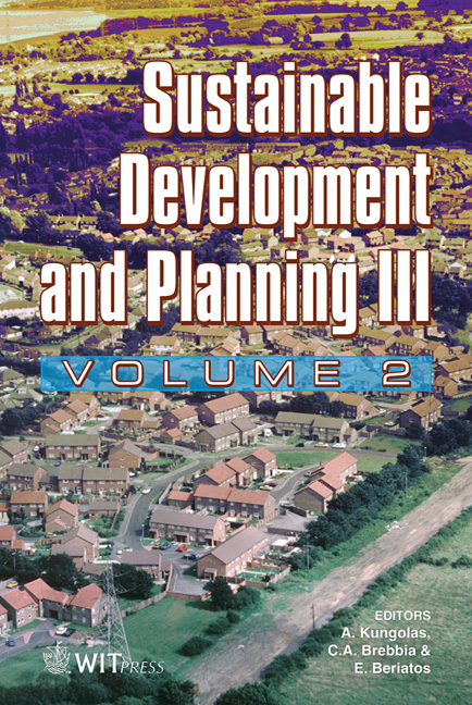 Sustainable Development and Planning III Volume 2