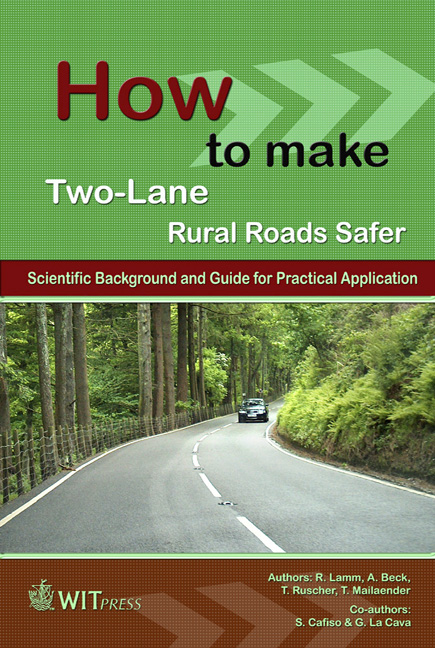 How to make Two-Lane Rural Roads Safer
