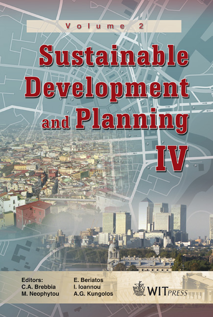 Sustainable Development and Planning IV - Volume 2