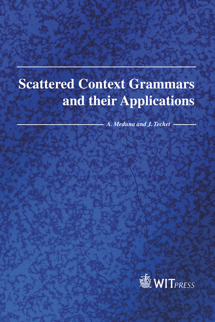 Scattered Context Grammars and their Applications