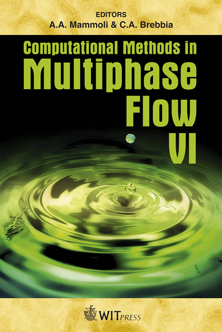 Computational Methods in Multiphase Flow VI