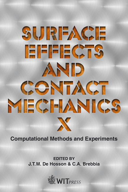 Surface Effects and Contact Mechanics X