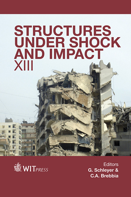 Structures Under Shock and Impact XIII