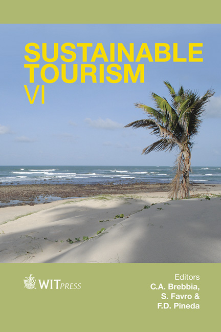 Sustainable Tourism VI