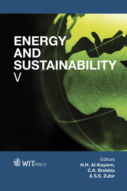 Energy and Sustainability V