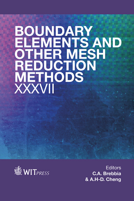 Boundary Elements and Other Mesh Reduction Methods XXXVII