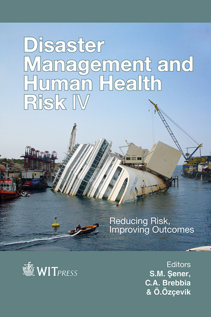 Disaster Management and Human Health Risk IV