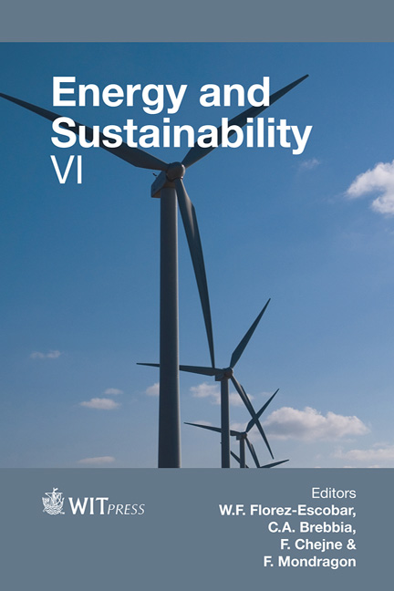 Energy and Sustainability VI