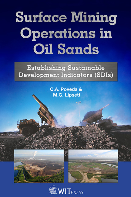 Surface Mining Operations in Oil Sands