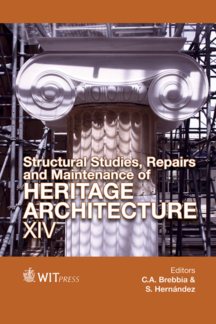 Structural Studies, Repairs and Maintenance of Heritage Architecture XIV