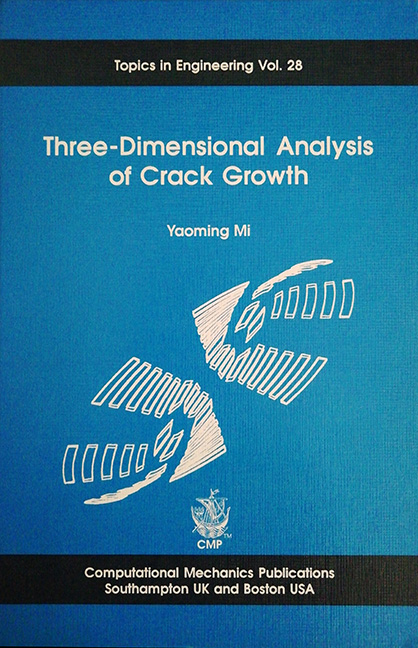 Three Dimensional Analysis of Crack Growth