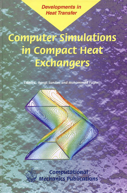 Computer Simulations in Compact Heat Exchangers