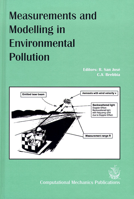 Measurements and Modelling in Environmental Pollution
