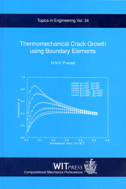 Thermomechanical Crack Growth using Boundary Elements