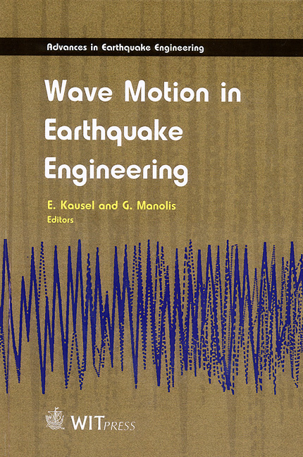 Wave Motion in Earthquake Engineering