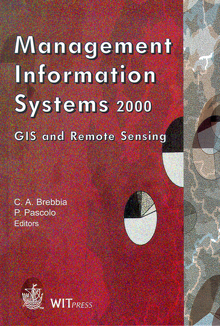 Management Information Systems 2000: GIS and Remote Sensing
