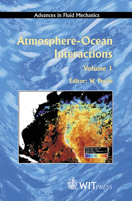 Atmosphere-Ocean Interactions Volume 1