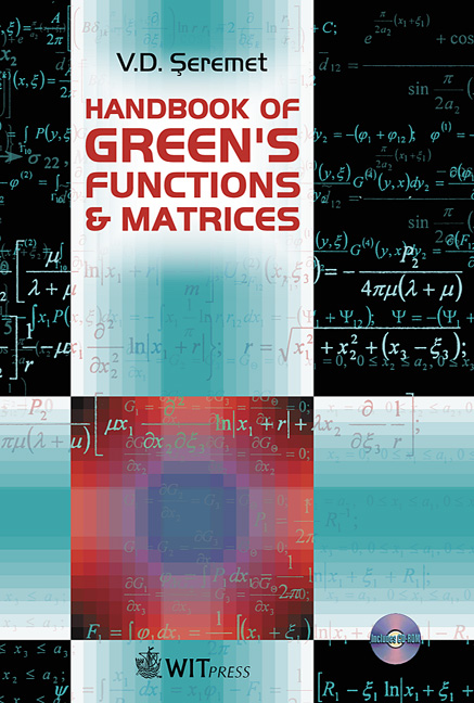 Handbook of Green's Functions and Matrices