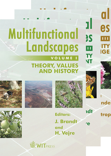 Multifunctional Landscapes - 3 Volume Set