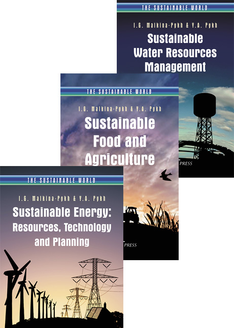 Sustainable Resources Set (3 Volumes)