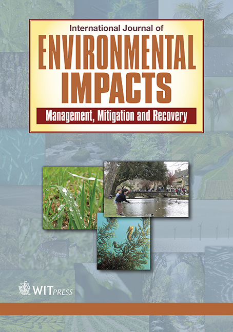 International Journal of Environmental Impacts