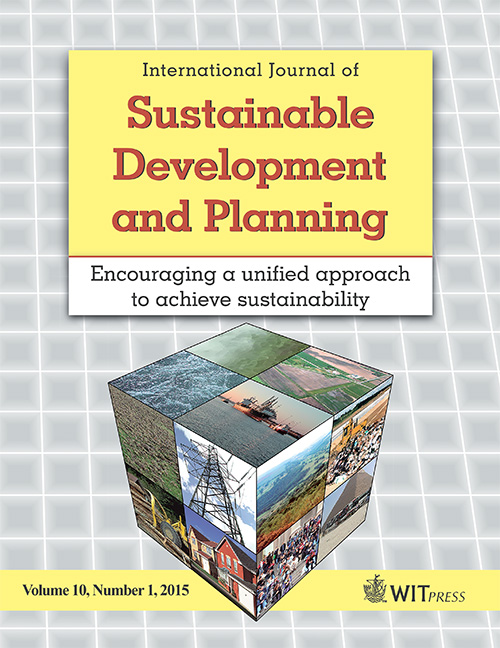 International Journal of Sustainable Development and Planning